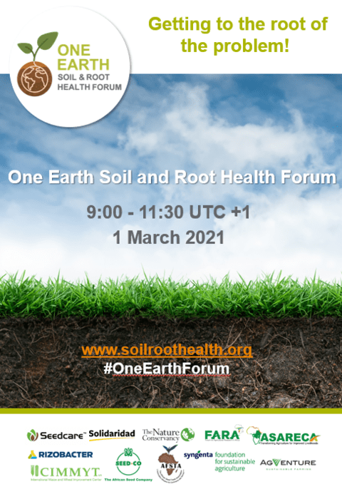 One earth soil and root health